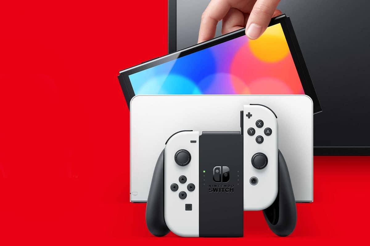 Nintendo switch oled 4