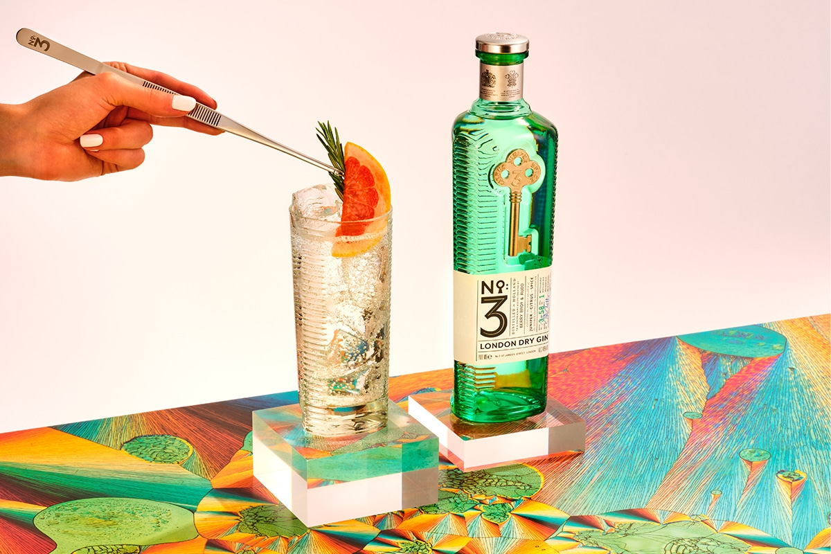 No3 gin feature
