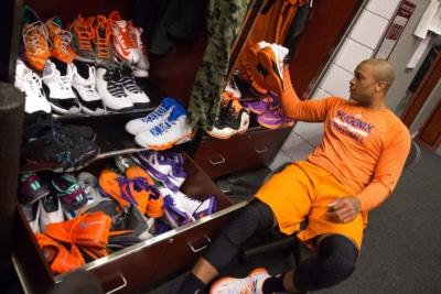 NBA's Biggest Sneakerhead PJ Tucker's 'NBA Finals' Rotation Includes $60K Nike Air Mag