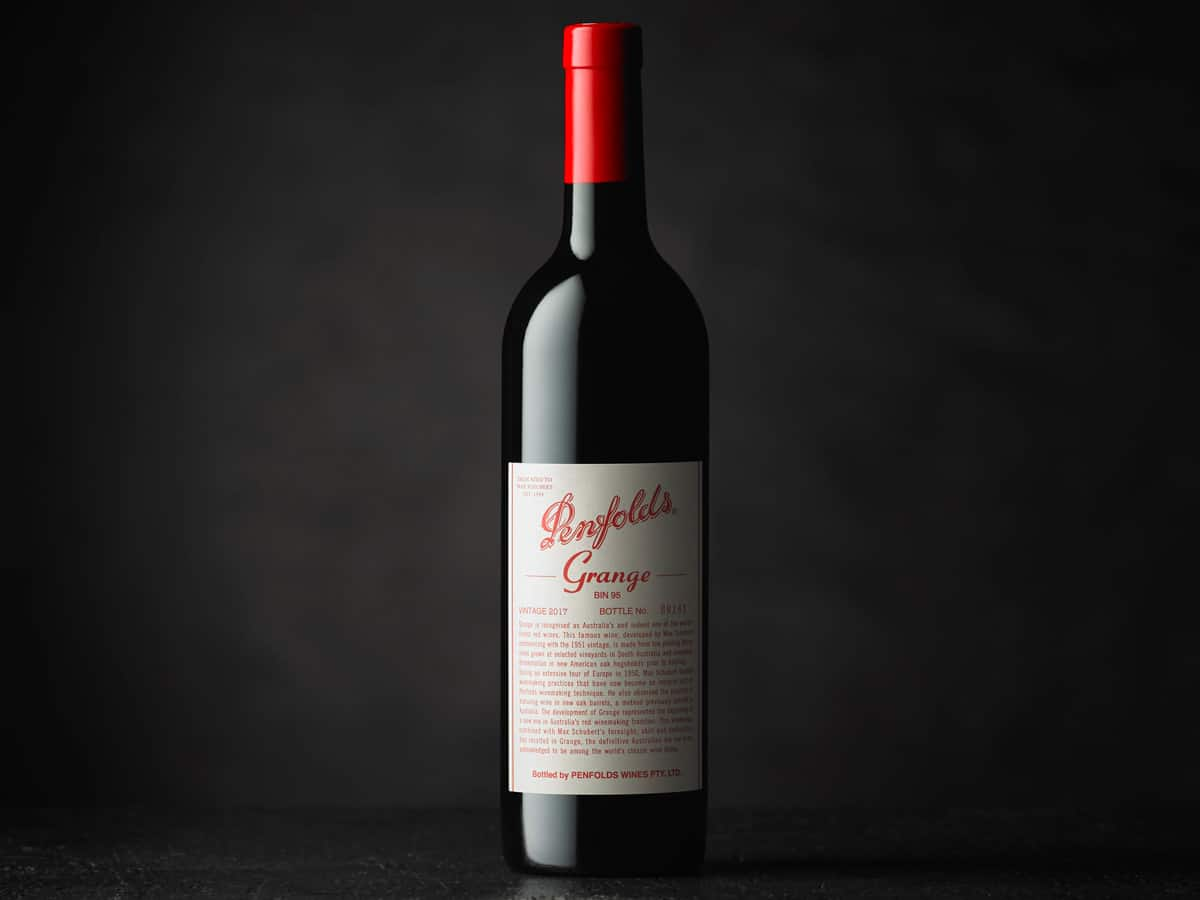 Penfolds grange collection