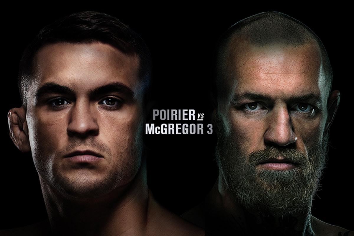 Poirier vs mcgregor 3
