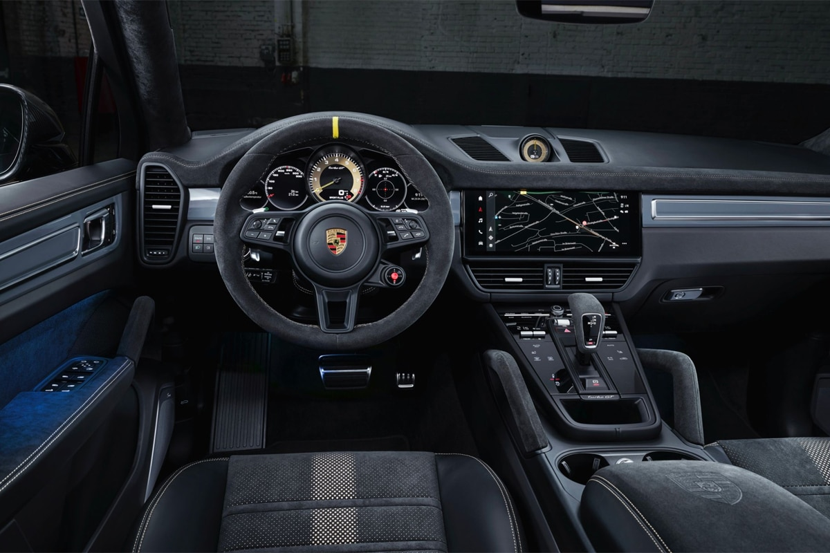 Porsche cayenne turbo gt front seats and wheel