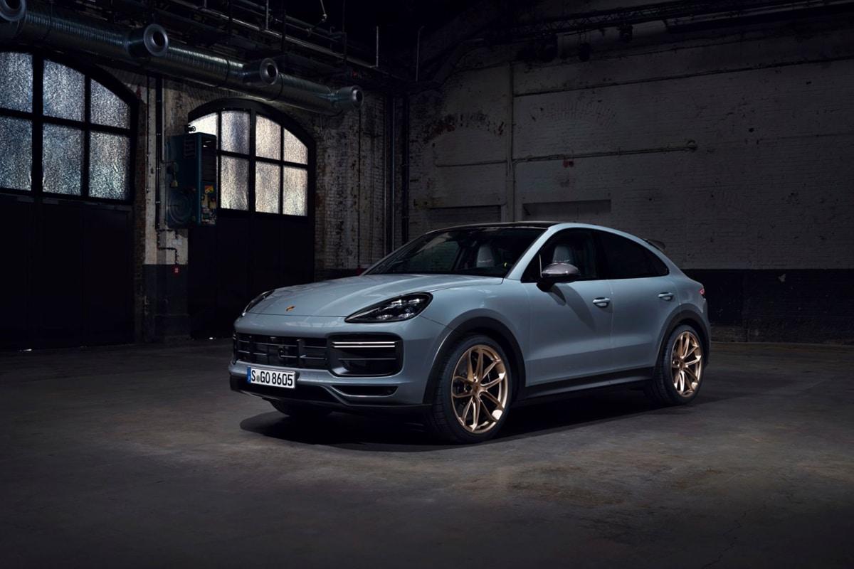 Porsche cayenne turbo gt side profile