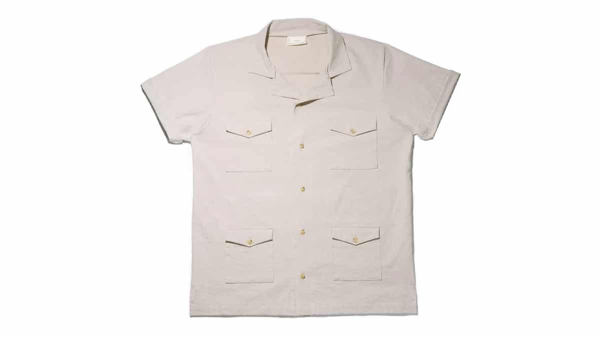 Predro and tailor guayabera shirt