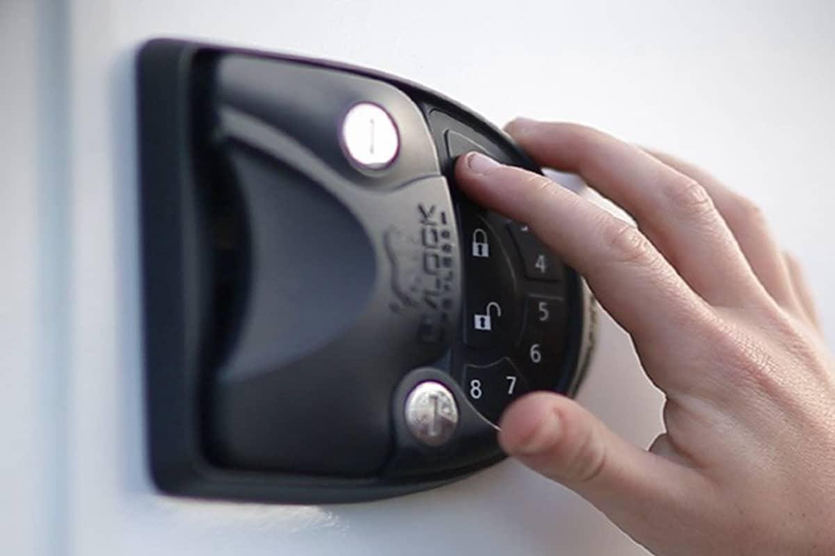 Rvlock v4 keyless entry handle wintegrated keypad fob 1