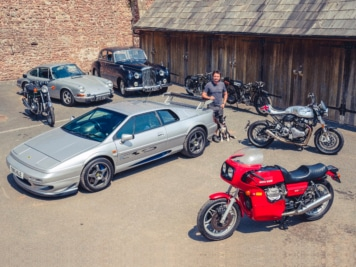 Top Gear's Richard Hammond is Selling His Personal Collection of Rare Cars and Bikes