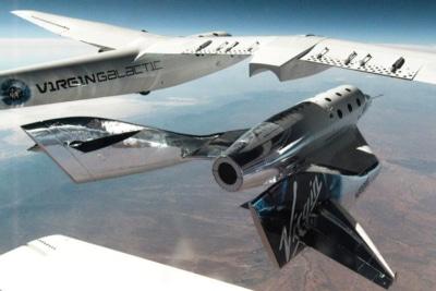 Watch the Moment Sir Richard Branson Won the Billionaire Space Race