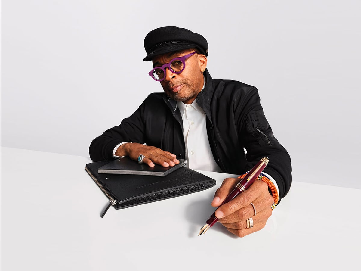 Do the Write Thing with Spike Lee x Montblanc's Ultimate Writing Set