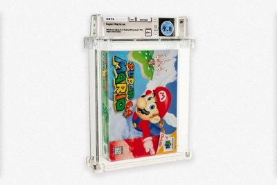 World's Most Expensive Video Game: Sealed Copy of 'Super Mario 64' Sells for $2.1 Million