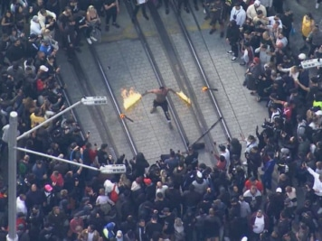 Chaotic Images Reveal True Scale of Sydney Anti-Lockdown Protests