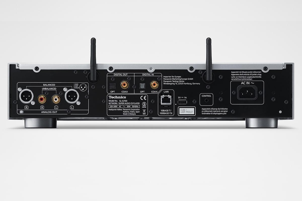 Technics sl g700e grand class network and super audio player 4