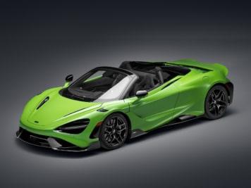 McLaren 765LT Spider is an Extreme Green Drop Top Machine