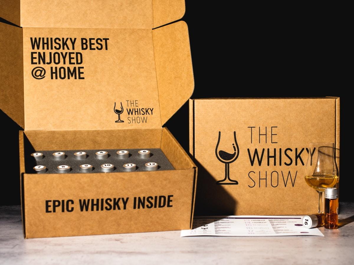 The whisky list virtual whisky show box