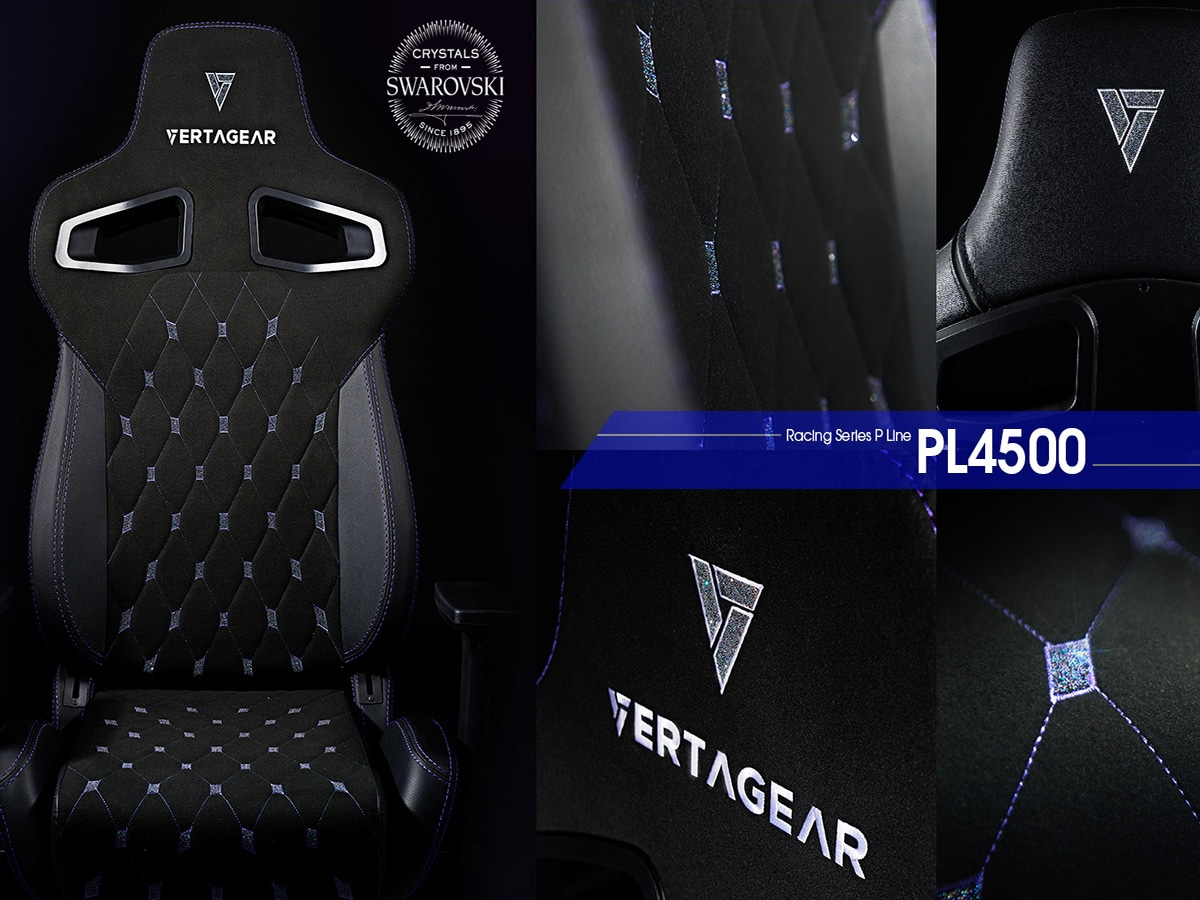 Vertagear x swarovski gaming chair