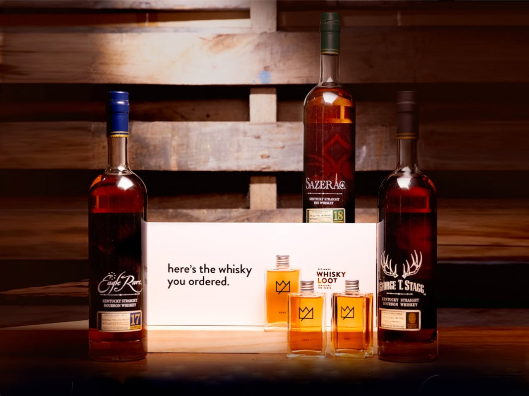 Whisky list buffalo trace antique collection