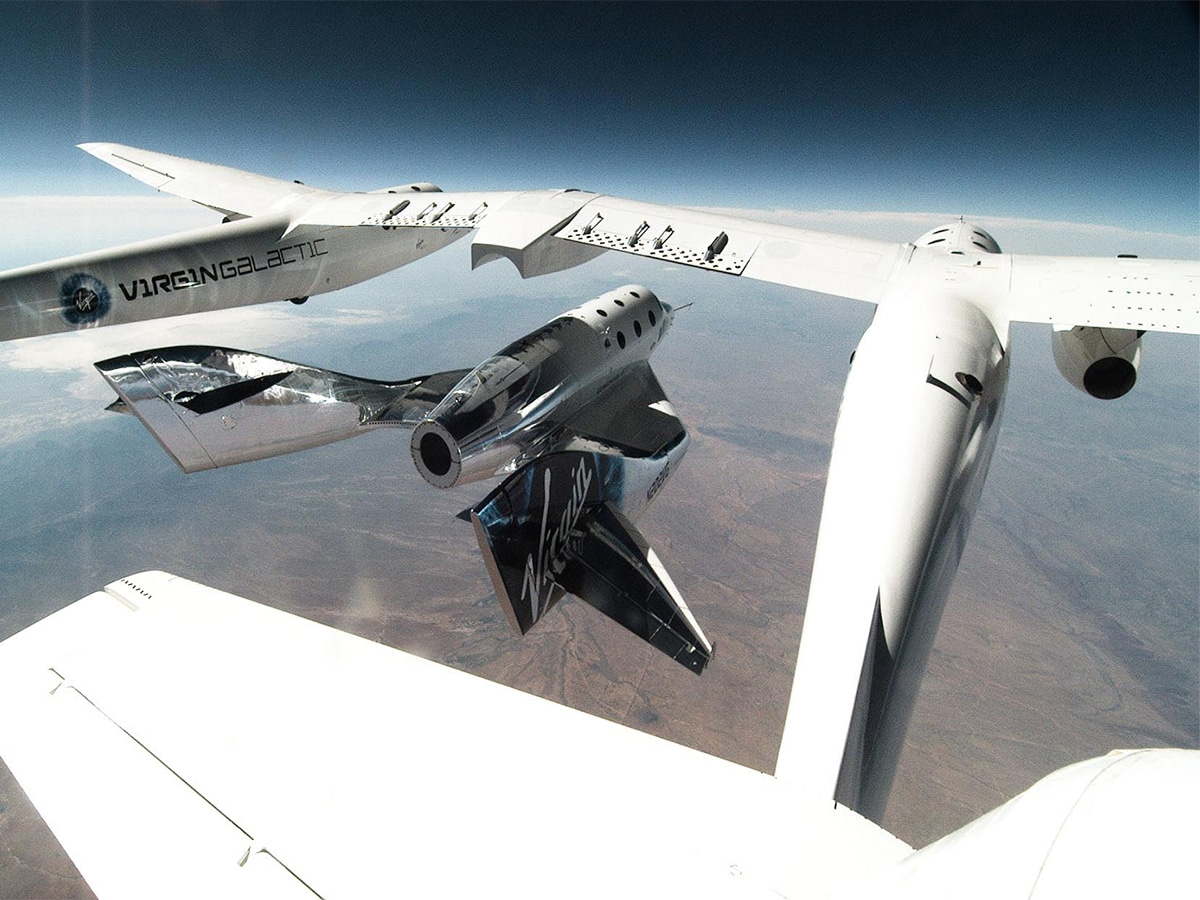 Win two seats on one of the first virgin galactic flights to space 1