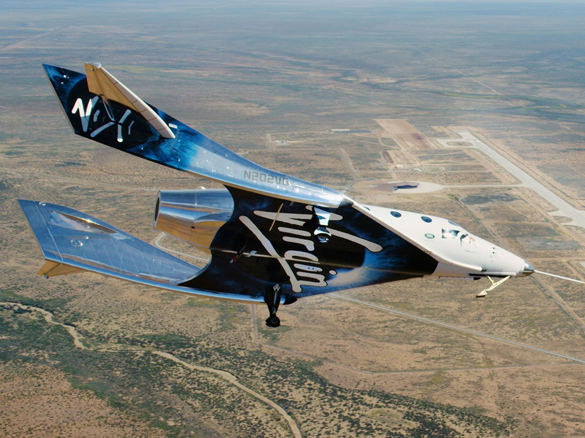 Win two seats on one of the first virgin galactic flights to space 4