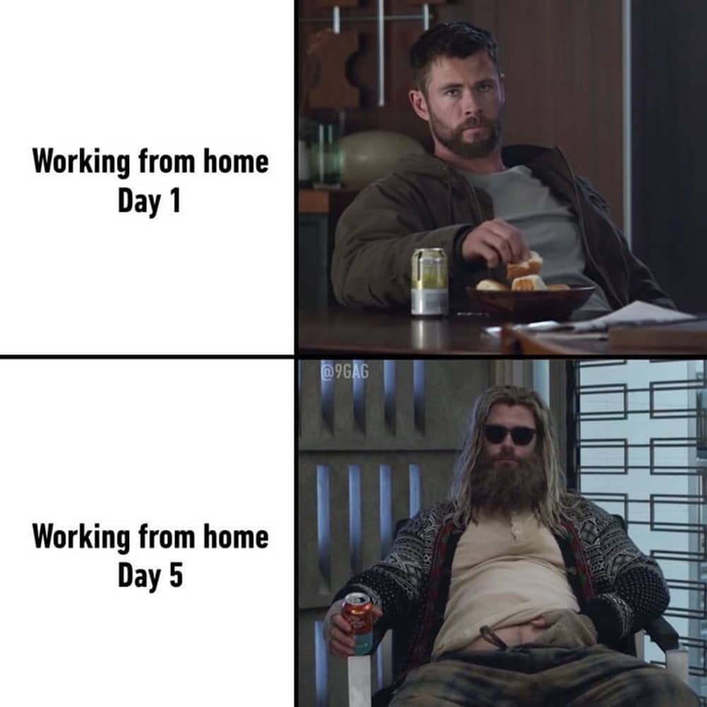 Work from home thor