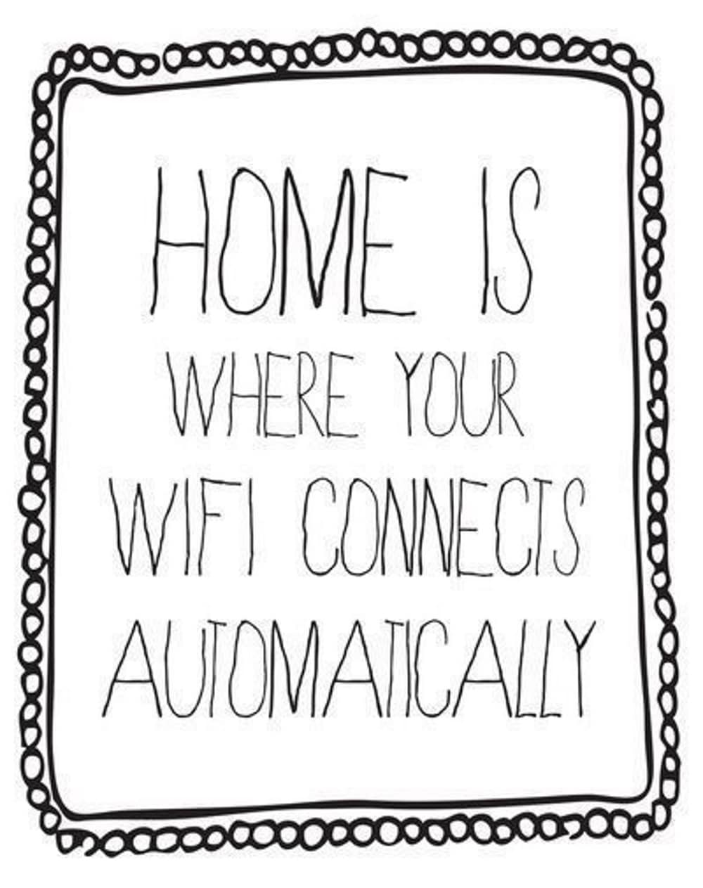 Work from home wifi