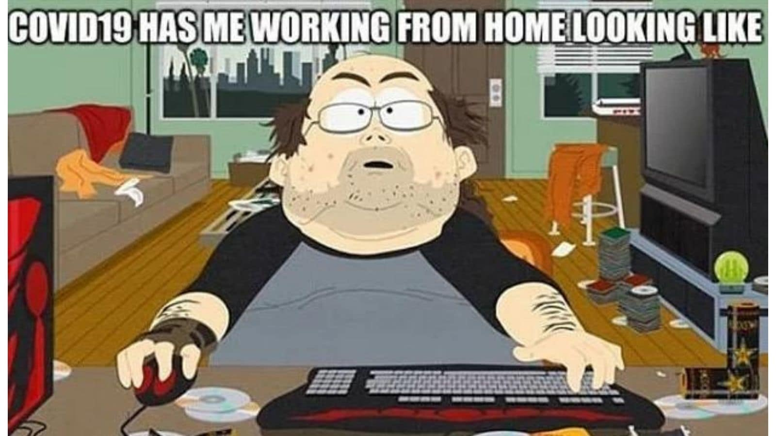 Work from home meme