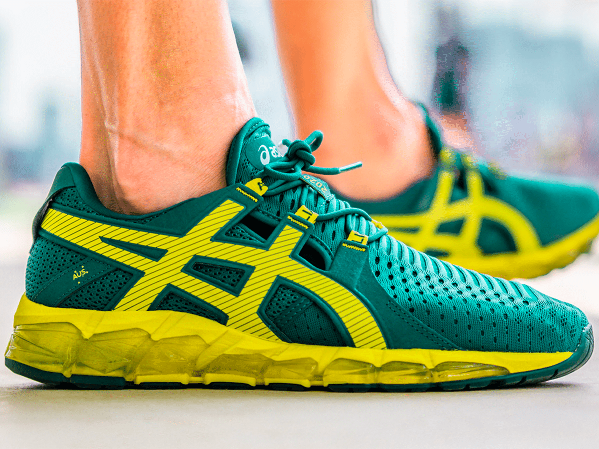 'Green & Gold with Envy' – ASICS Gift Aussie Athletes Olympian-Exclusive Sneakers