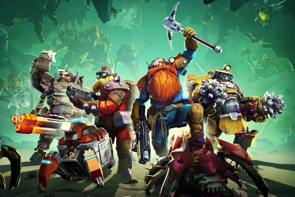 Best online games deep rock galactic