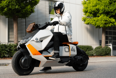 BMW's New CE 04 Electric Scooter is a City Commuter's Dream Ride
