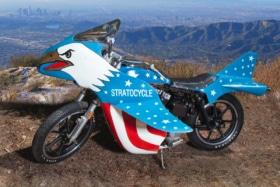 Evel knievel stratocycle