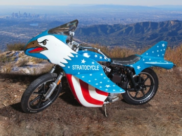 Evel Knievel's Record-Breaking Motorcycle is Up For Auction