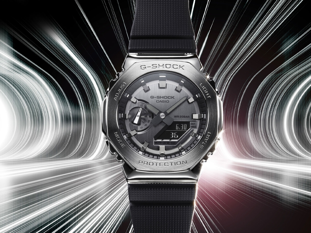 G-SHOCK's Iconic 'CasiOak' Cops a Stainless Steel Refresh