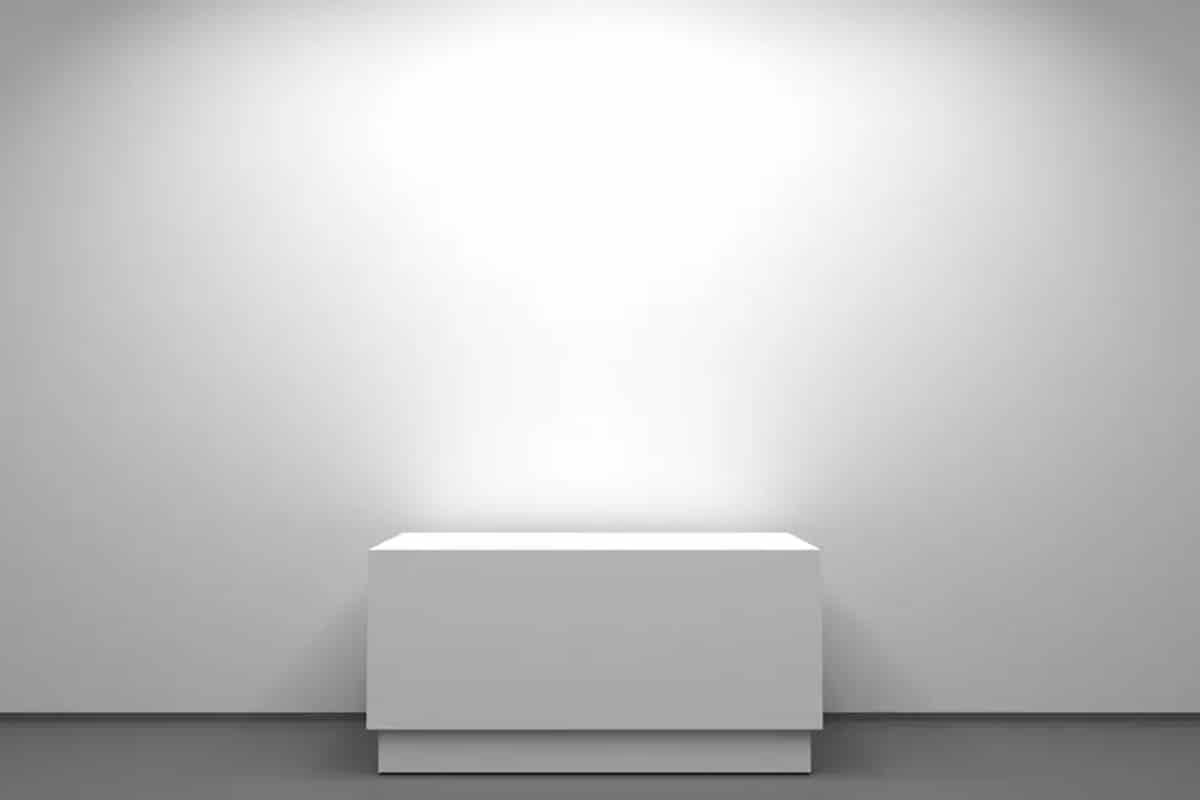 Invisible sculpture