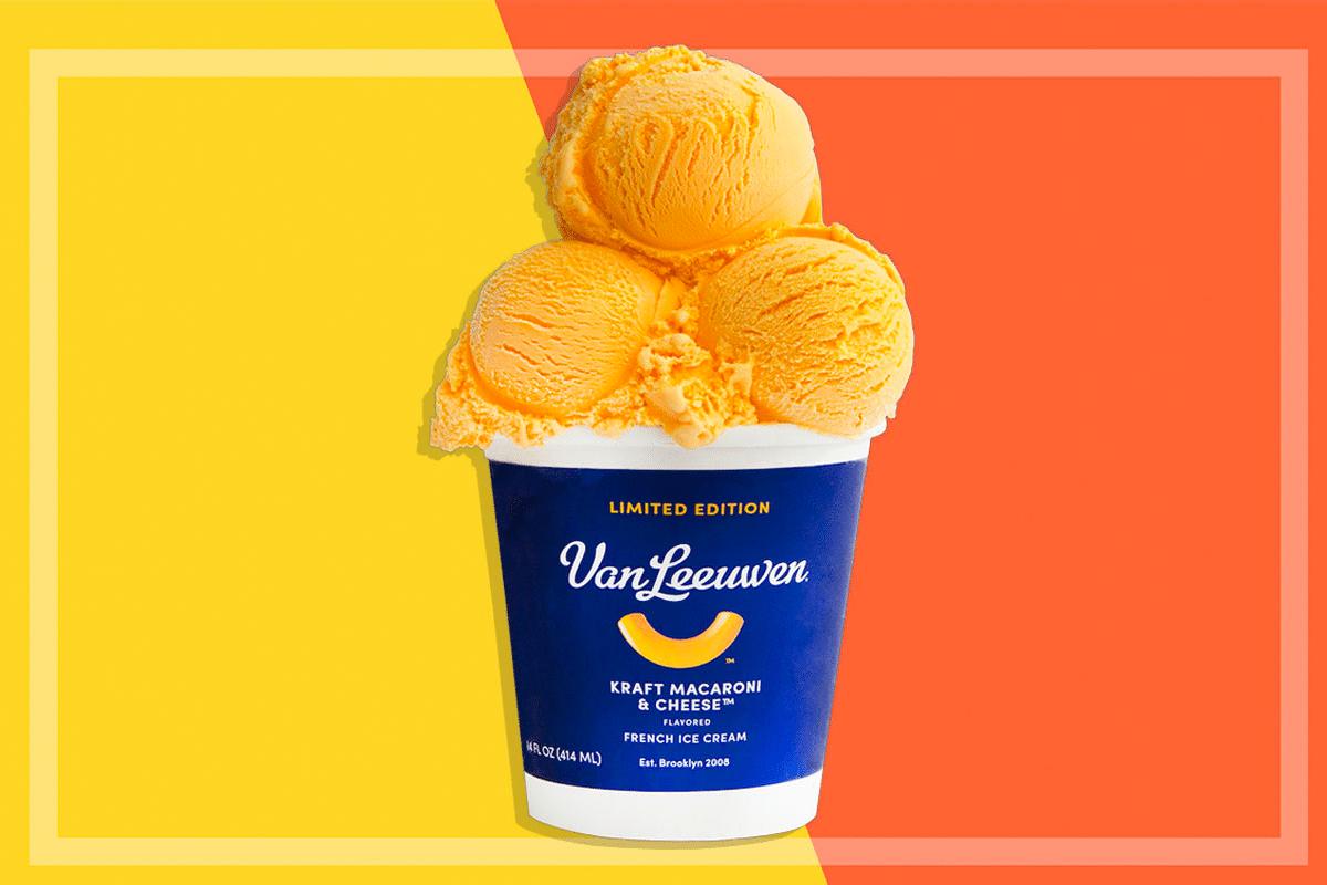 mac and cheese ice cream