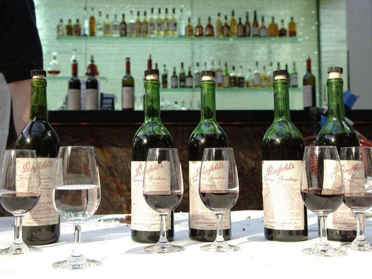 Penfolds wine record grange hermitage 3