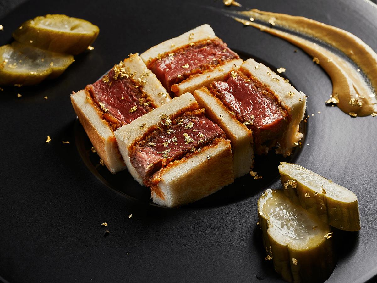 Steak Sandwich Kobe Beef