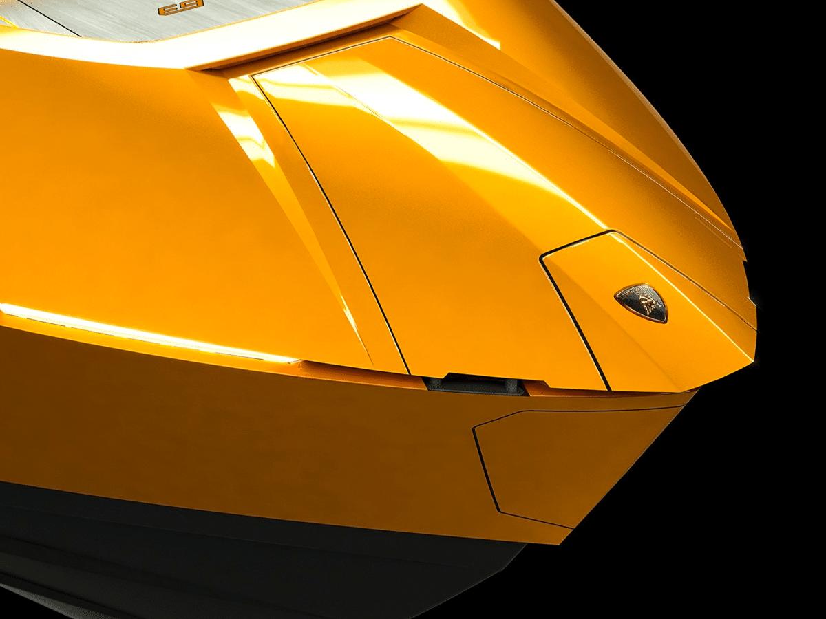 Lamborghini Tecnomar 63 yacht