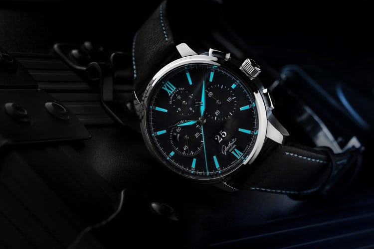 glashütte original watch sub dials