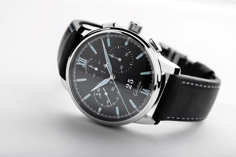 glashütte original watch crown