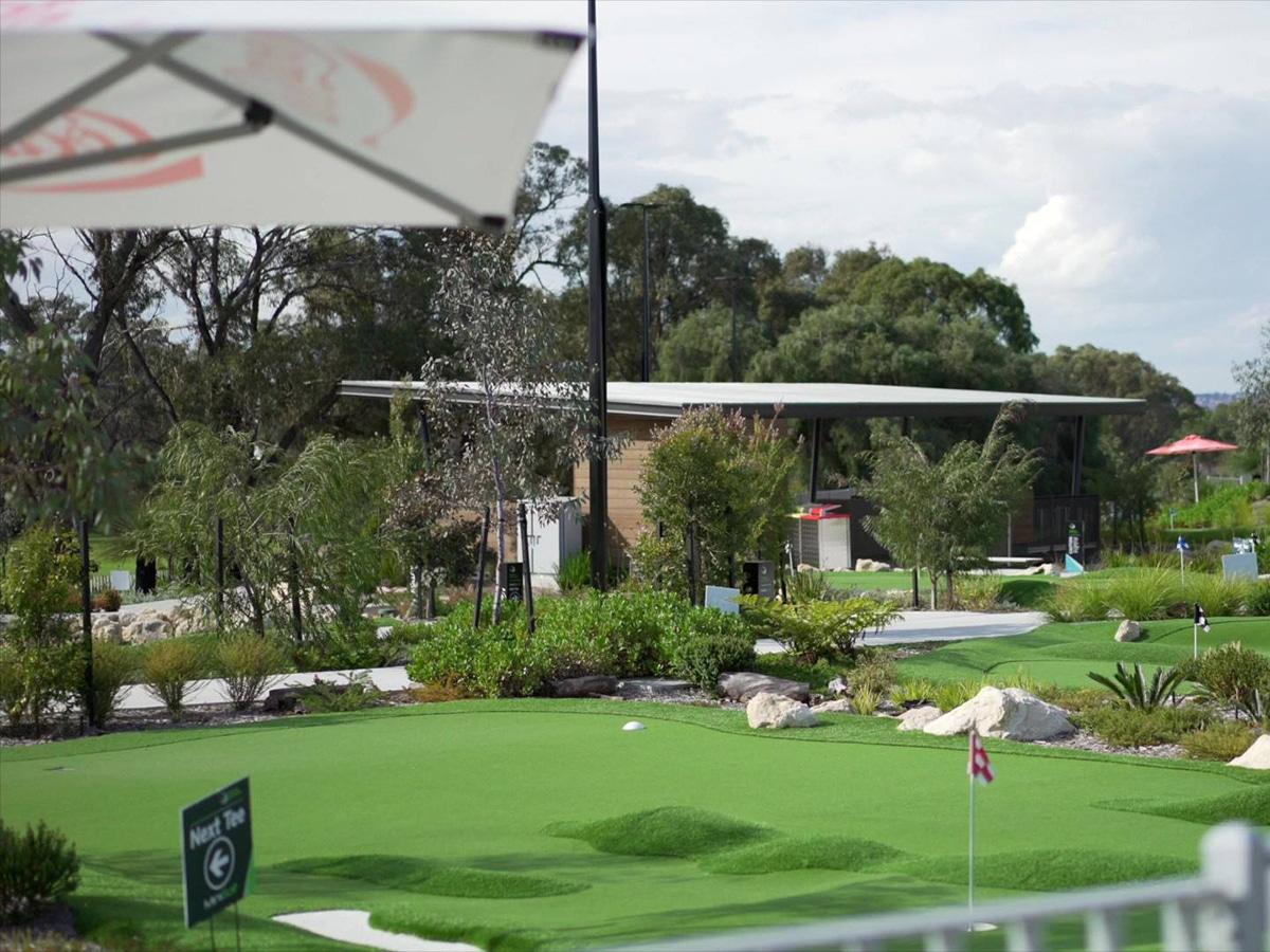 wembley golf course lookout