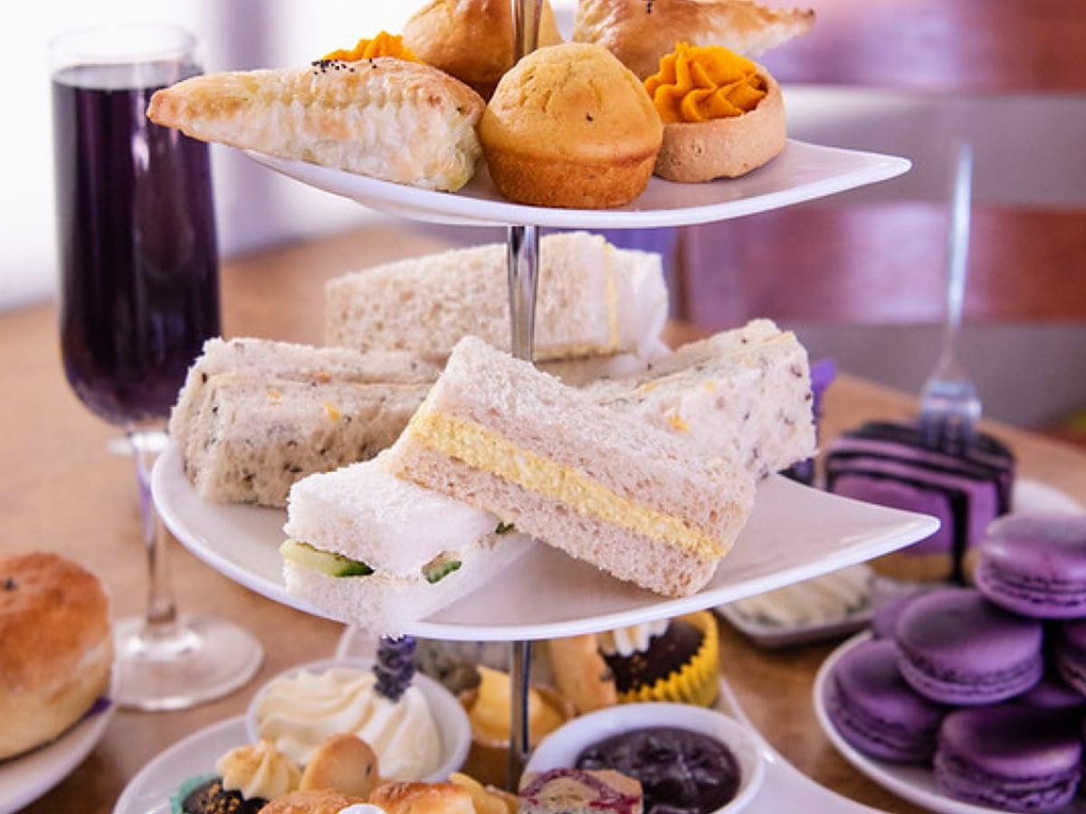 lavender bistro high tea