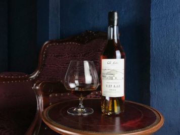 This Incredible 1957 Fins Bois Cognac Captures Time in a Bottle