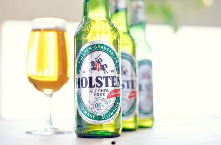 holsten germany non alcoholic beer front view