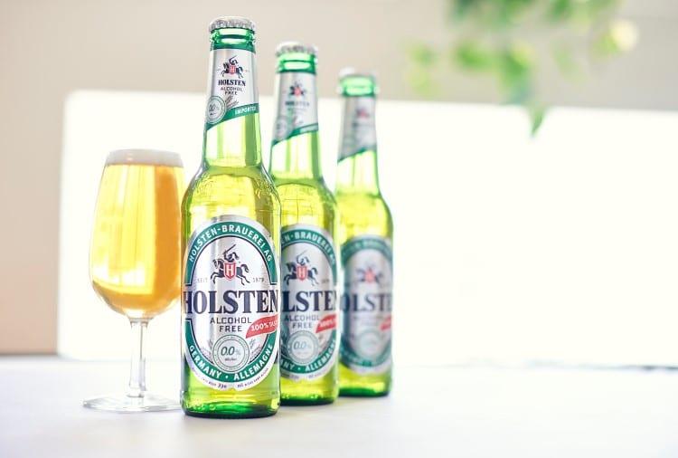 holsten non alcoholic beer bottle
