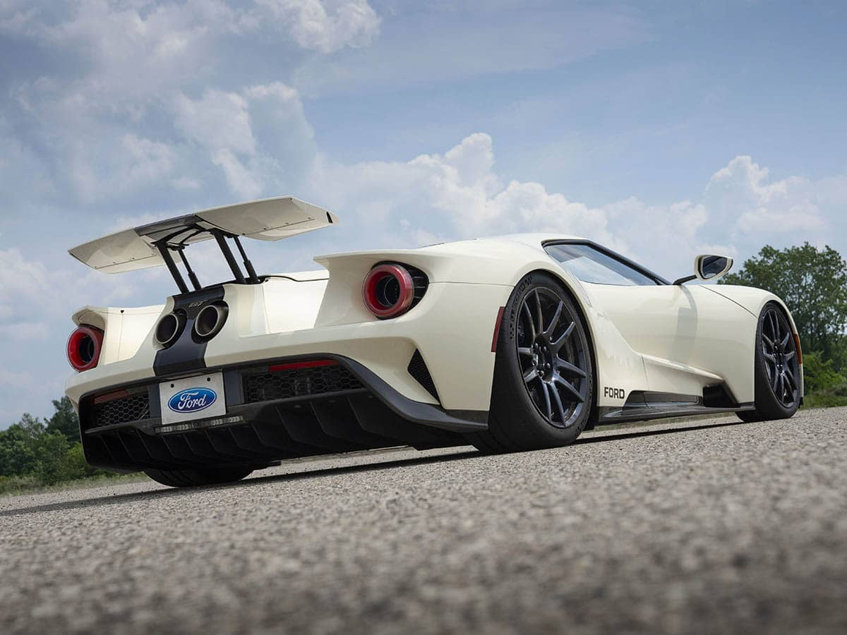 2022 ford gt heritage edition back