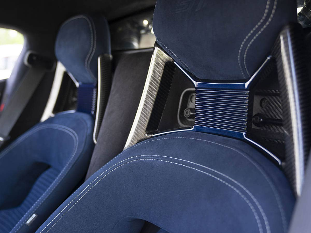 2022 ford gt heritage edition seat
