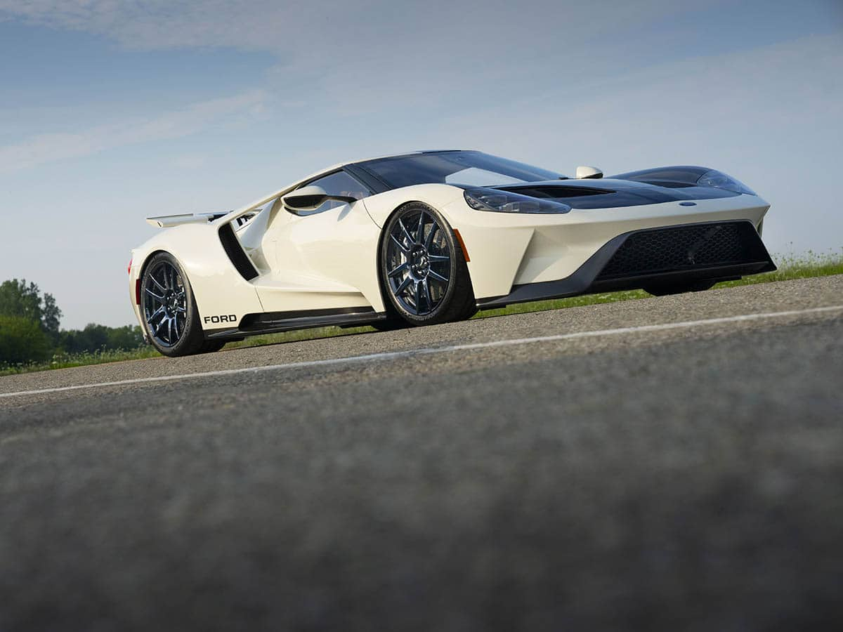 2022 ford gt heritage edition side