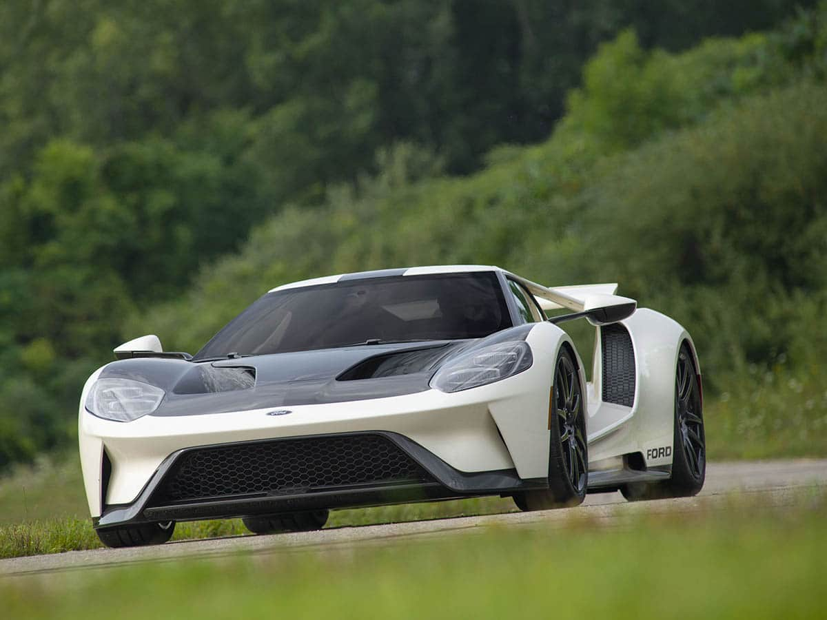 2022 ford gt heritage edition view