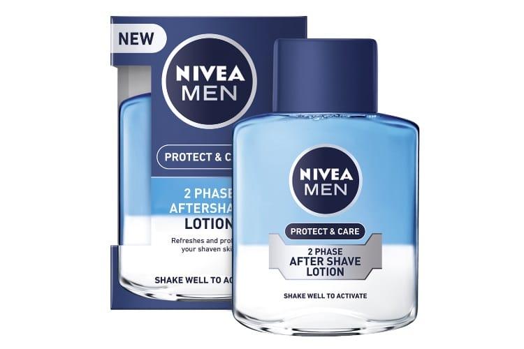 nivea men lotion after shape