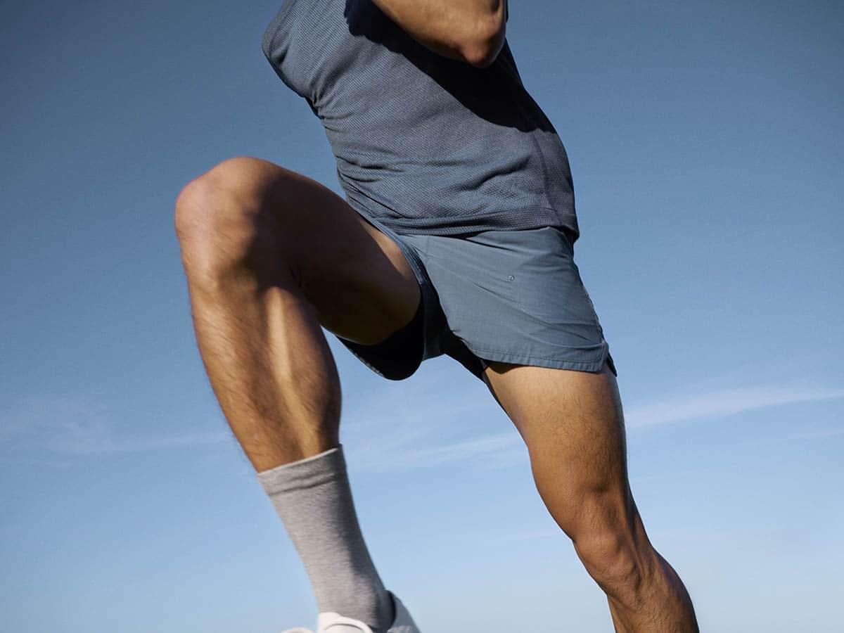 Allbird activewear jumping