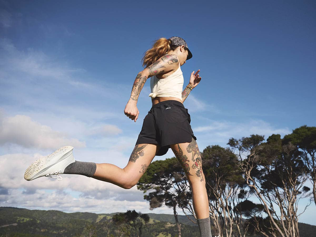 Allbird activewear running onw
