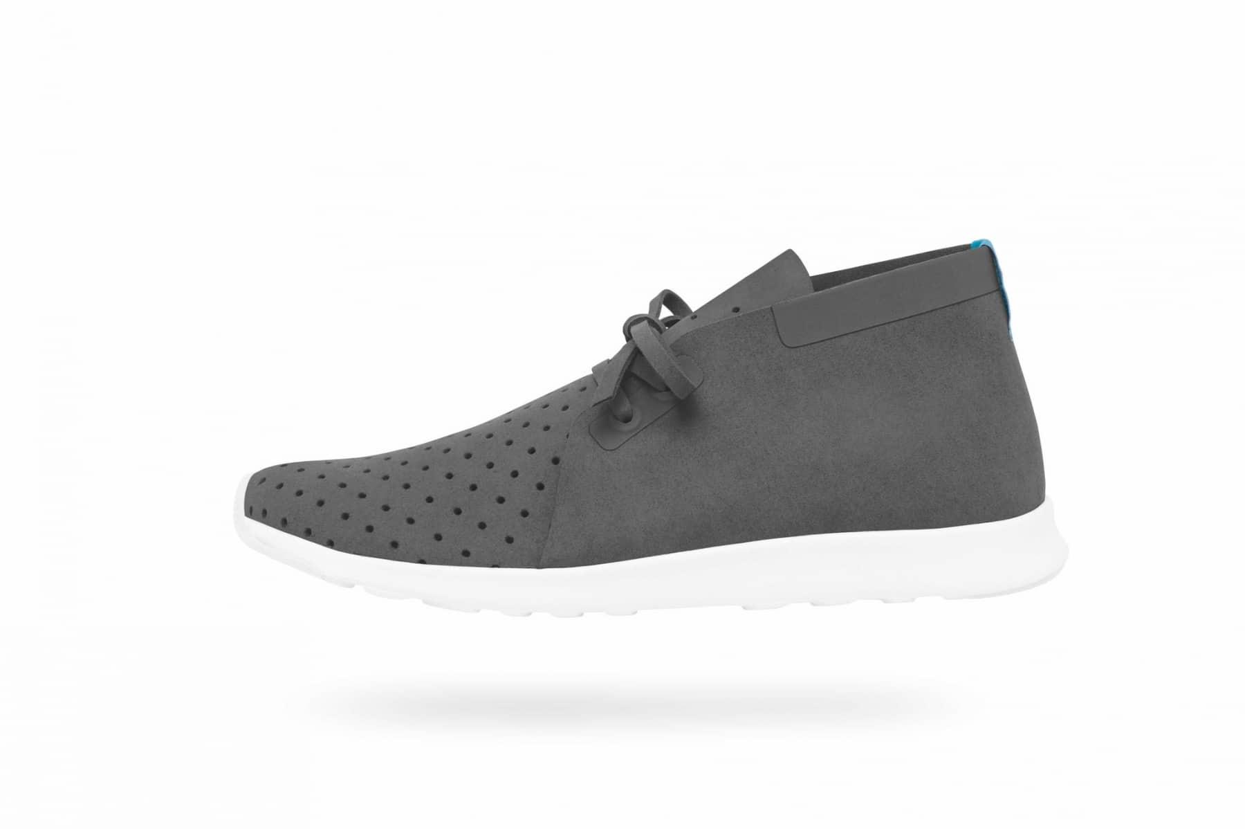native apollo kicks shoe grey one color